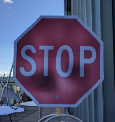 Adversarial Stop Sign